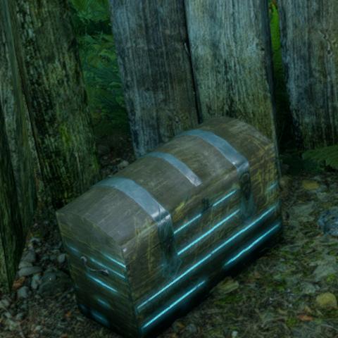 Leuchtende Lyrium-Kiste