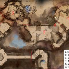 Main map (first half)