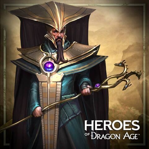 Archon Radonis in <i>Heroes of Dragon Age</i>