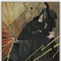 The Elementalist Tarot Card