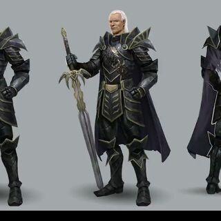Artwork of Aldren's tier progression in <i><a href=