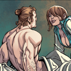 Varric and Bianca in the Fade