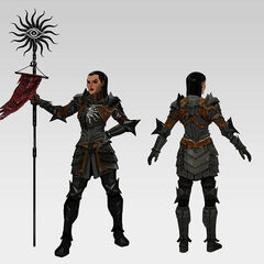 Concept art from <i>Dragon Age II</i>