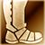 Heavy boots gold DA2