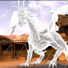Malvernis Gestalt eines Drachen