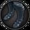 Schwerer Beinschutz icon