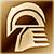 Средний шлем (золотой)