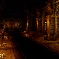 The interior of Haven's new chantry