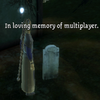 Example of messages found in the Village of Haven hidden Graveyard