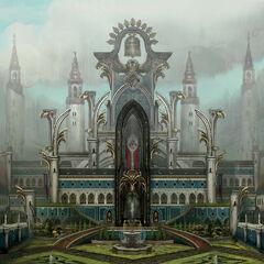 Grafika koncepcyjna Pałacu Cesarskiego