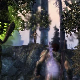 Velanna ruft Wilde Waldgeister zu ihrer Unterstützung
