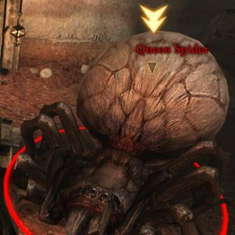 Queen spider in <i>Dragon Age II</i>