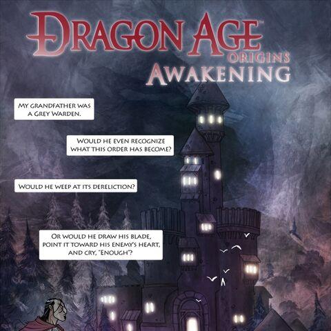 Okładka komiksu <i>Awakening</i>