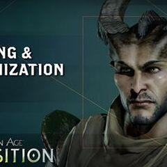 A Qunari in <i>Dragon Age: Inquisition</i>