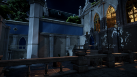 Secluded Courtyard Header
