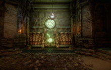 Gefangenes Feuer - erste Tür