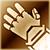 Heavy gloves gold DA2