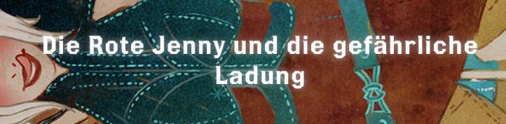 Die Rote Jenny und die gefährliche Ladung - Font