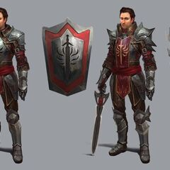 Wesley in Heroes of Dragon Age