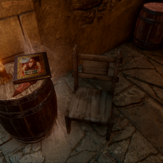 A copy of the book in Skyhold's cellar