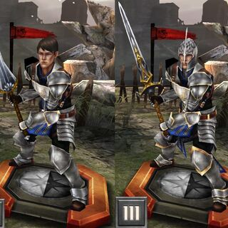 Tier progression of Grey Warden Carver in <i><a href=