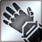 Heavy gloves silver DA2