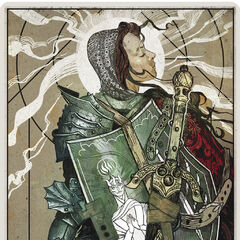 The Templar tarot card