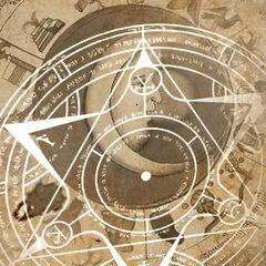 Strona z księgi magów w staroteveńskim