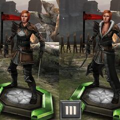 Sister Nightingale's tier evolution in <i>Heroes of Dragon Age</i>
