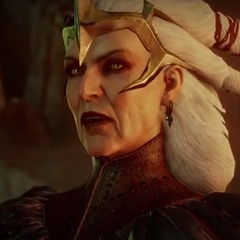 Flemeth in <i>Dragon Age: Inquisition</i>