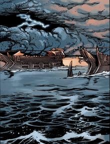 Qunari dreadnoughts