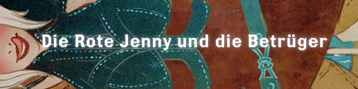 Die Rote Jenny und die Betrüger - Font