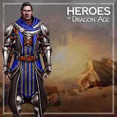 Promotional von Nathaniel in <i>Heroes of Dragon Age</i>