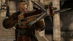 Varric battle