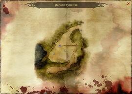 Лесная лужайка (карта)