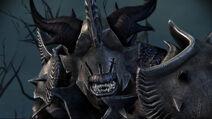 Entrada del códice Ogro con armadura