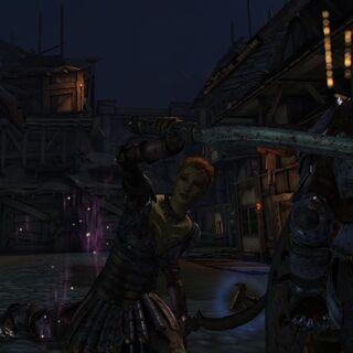 A Rogue Backstabbing an Enemy