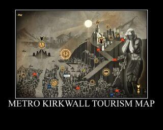 Metro Kirkwall Tourism Map