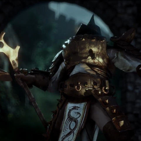 A Venatori member in DAI Gameplay Trailer