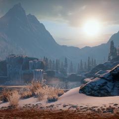 Das Frostgipfel-Gebirge