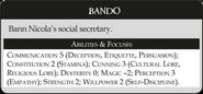 Бандо статистика