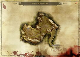 Map-Village of Honnleath