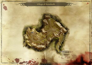 Map-Village of Honnleath