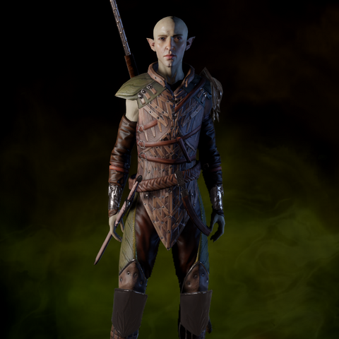 Solas in the armor