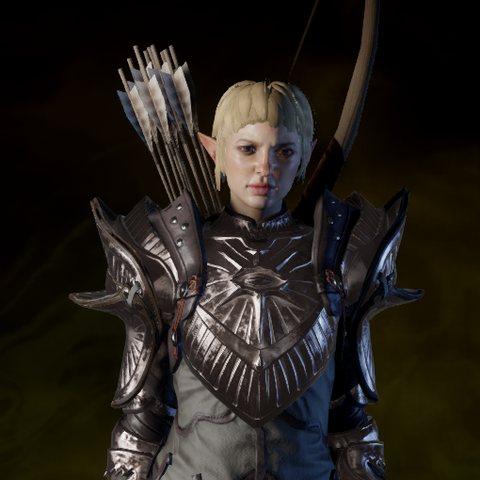 Sera in the armor