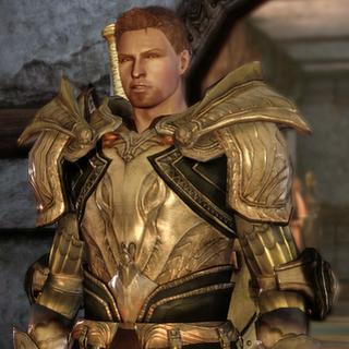 Alistair in königlicher Rüstung