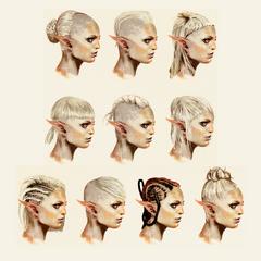 Pomysły na fryzurę Sery
