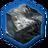 Тронутое тенью железо (иконка)