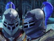 Тяжелый солдатский шлем