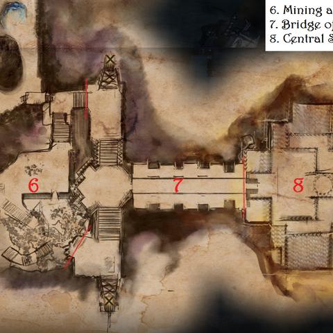 Main map (second half)